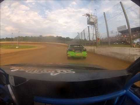 Eagle Valley Speedway Hornet Swarm Heat #2 7/9/17