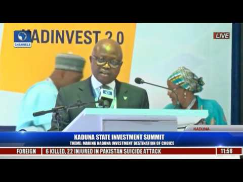 Kaduna State Investment Summit 2017 Pt 15