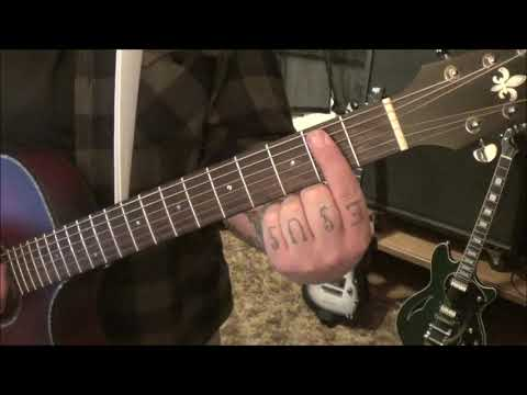 Randy Houser - What Whiskey Does - CVT Guitar Lesson by Mike Gross