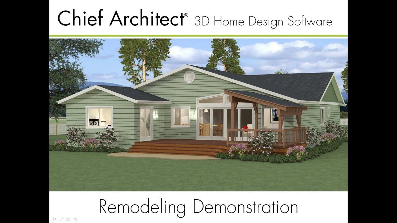 Amazing 1   Dalton Remodel: As Built. Chief Architect Software