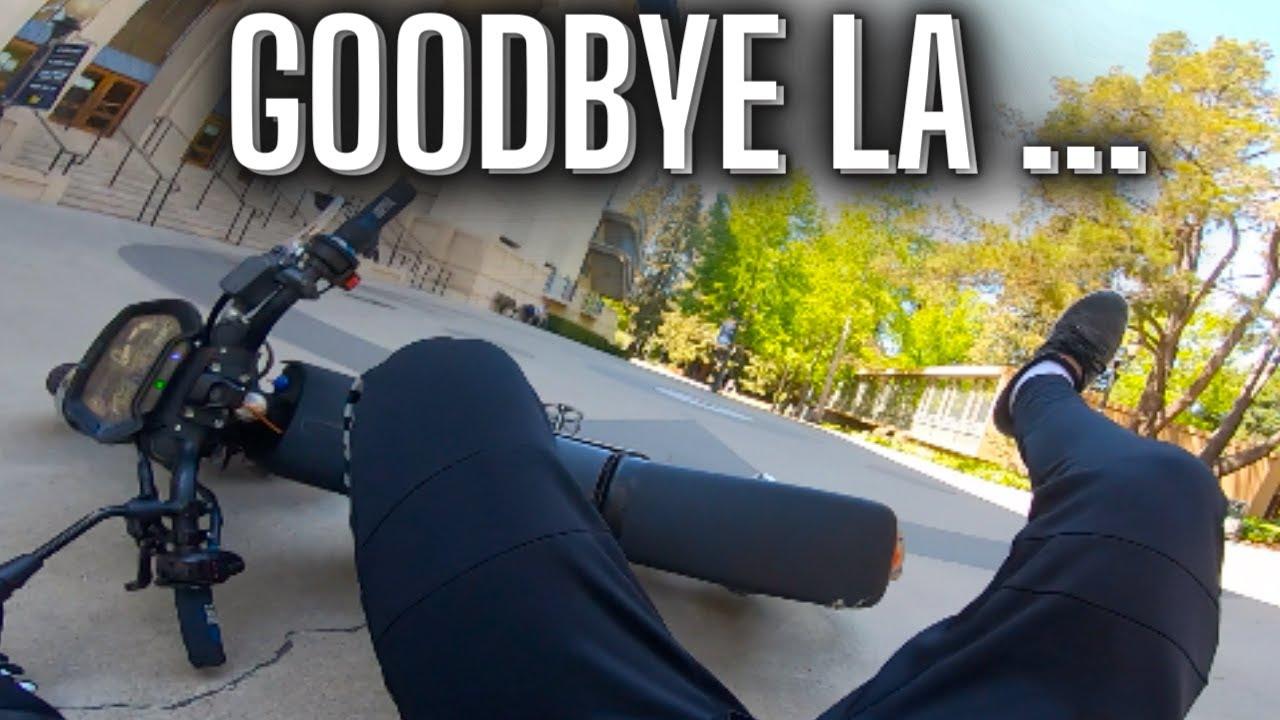 Goodbye LA // 72v Sur Ron Motovlog