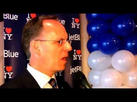 Jetblue/AA NYC News--CEO David Barger