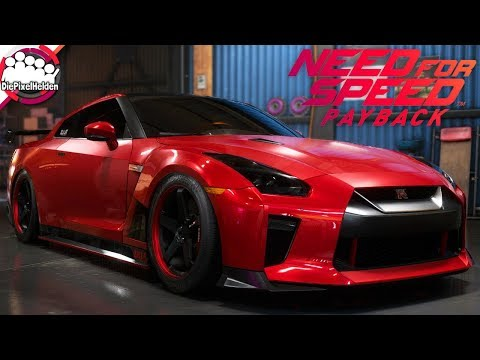 NEED FOR SPEED PAYBACK - Nissan GT-R (R35) - Racerbuild - NFS Payback Carbuild