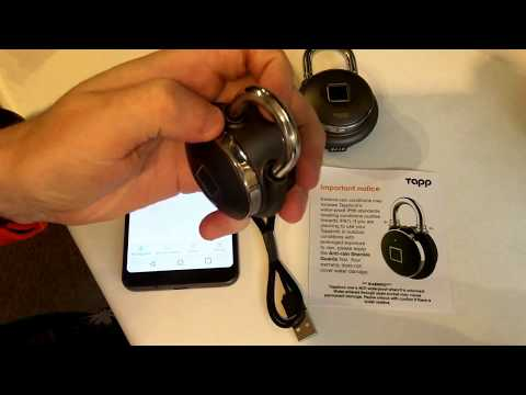 Review of the Tapplock Fingerprint Padlock (Indiegogo)