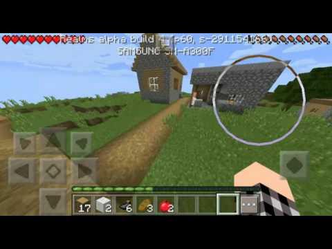 Выживание в Minecraft PE 0.15.0 #1!Деревня?!