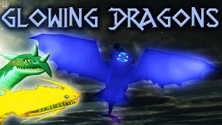 GLOWING DRAGONS! Dreadfall: Fright of Passage - School of Dragons