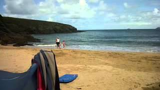 harlyn holiday park beach