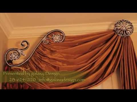 Designer Window Treatments Luxurious Curtains And Drapes
