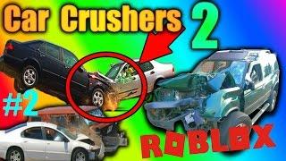 THE MINIGUN! - Car Crushers 2 EP 2 - ROBLOX