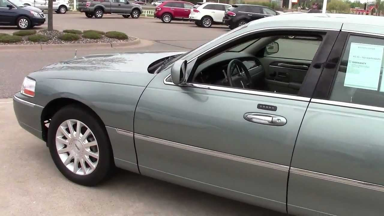 2006 Lincoln Town Car Signature Series Youtube