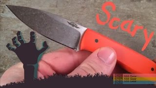 Scary Sharp Fixed Blade: Jarosz JFS - Happy Halloween! The Sharpest Knife I