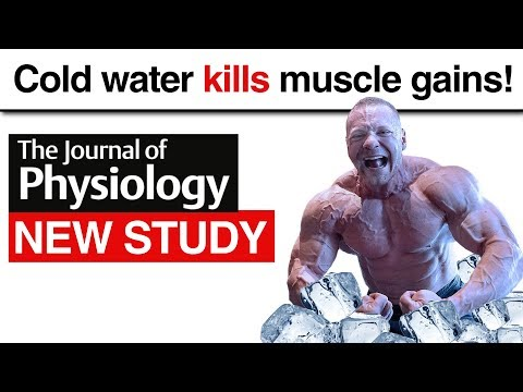 Cold Water Kills Muscle Gains New Study!