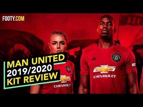 MANCHESTER UNITED 2019/20 ADIDAS HOME SHIRT   KIT REVIEW
