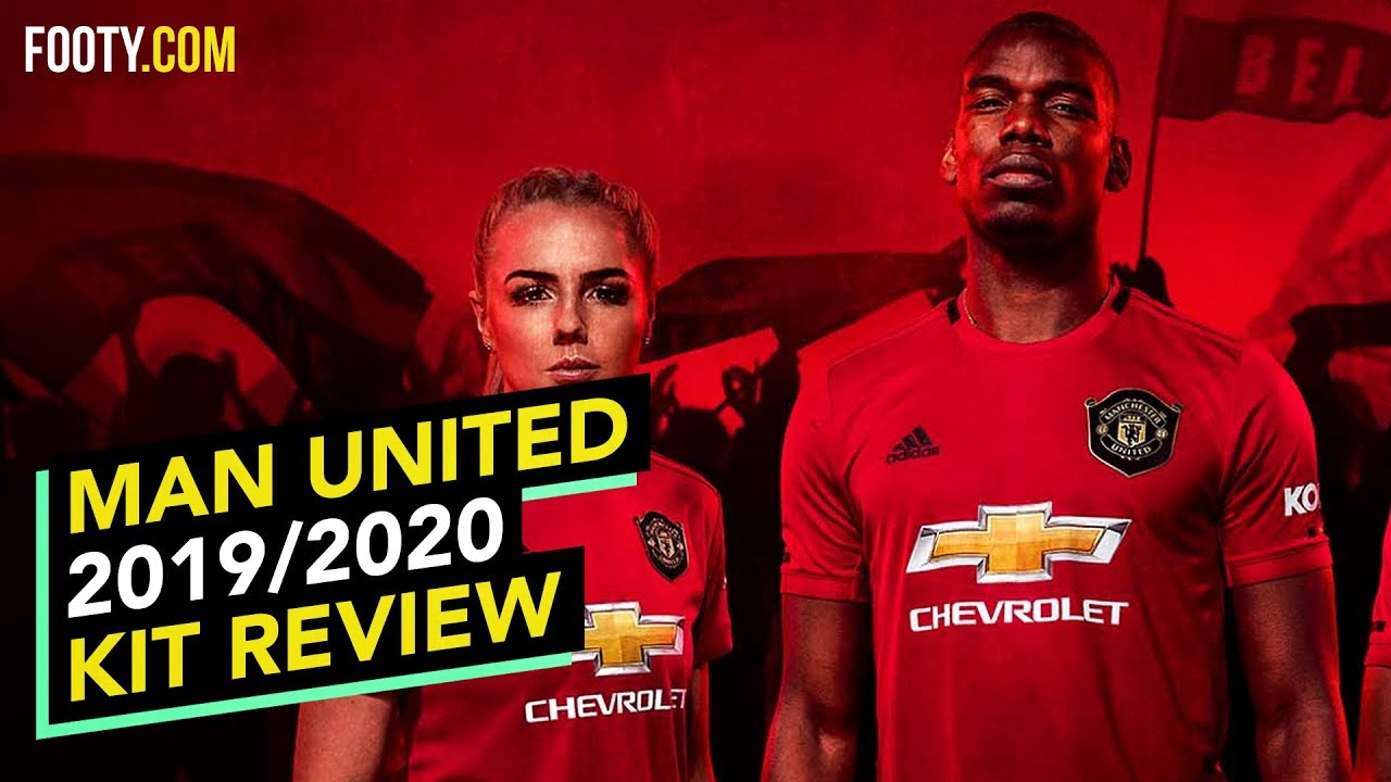 Manchester United 2019 20 Adidas Home Shirt Kit Review Youtube