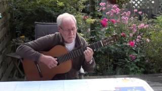 Nostalgia (Sungha Jung) - classical guitar
