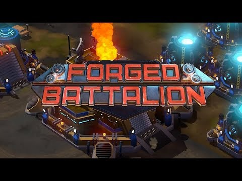 Forged Battalion Gameplay Impressions - Westwood is Back! Slick NEW Real Time Strategy!