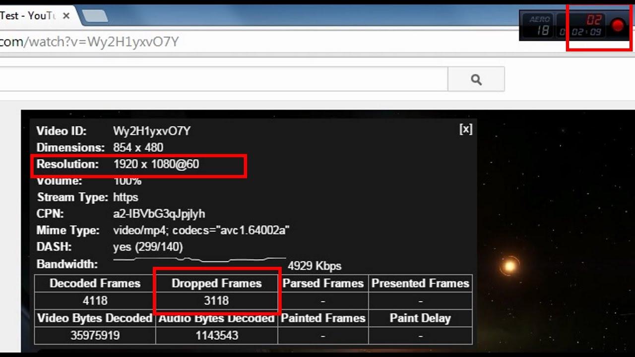 Chrome 60fps 1080p Lag Dropped frames setting Fix !!
