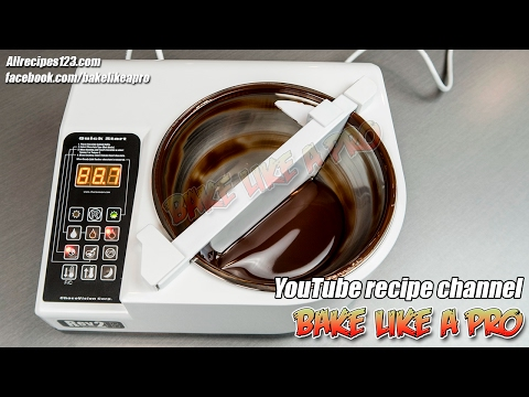 ChocoVision Chocolate Tempering Machine Rev 2B Unboxing And Review