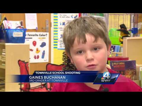 Townville Elementary School student and mother speak after shooting