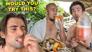 Eating Snails & Drinking Coconut Wine With Filipino Friends (My First Time Trying Tuba!)