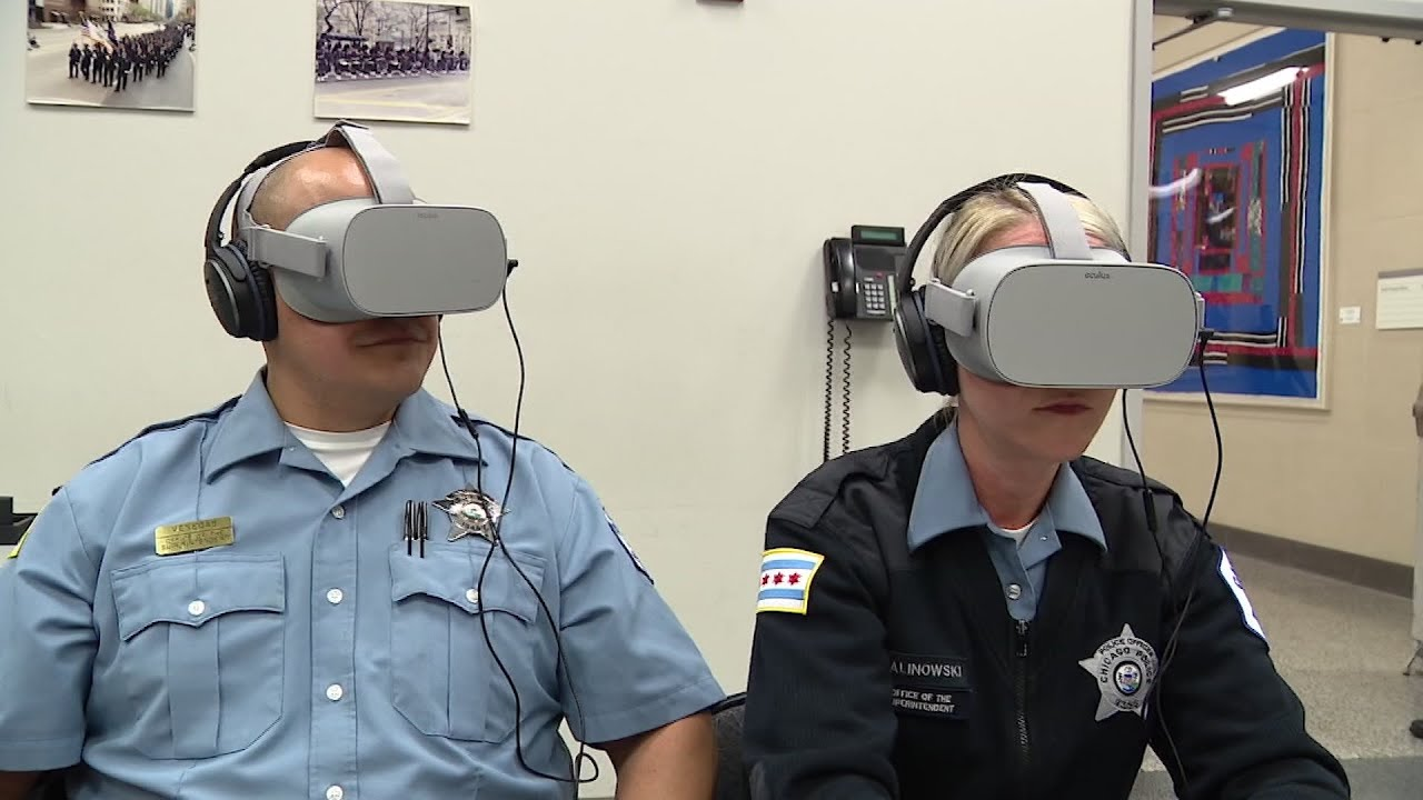 Why Police Need Training To Interact >> Vr Training Helps Police Interact With Autistic Youtube