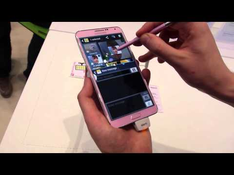 Video: Multitasking on the Samsung Galaxy Note 3