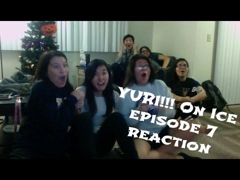 YURI!!! ON ICE EPISODE 7 REACTION...