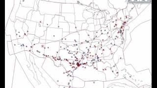 Houston Air Traffic Control Activity - Feb. 6 After Super Bowl LI