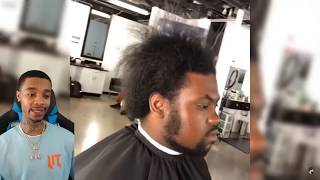 BARBERS GONE WILD SATISFYING AMAZING HAIRCUTS TRANSFORMATION 2019 COMPILATIONS # 2 REACTION!
