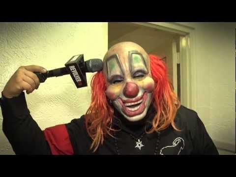SLIPKNOT, SLAYER, ANTHRAX - Backstage at Rockstar Mayhem 2012