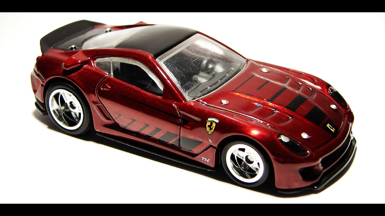 hot wheels ferrari 599xx list and variations speed machine. Black Bedroom Furniture Sets. Home Design Ideas