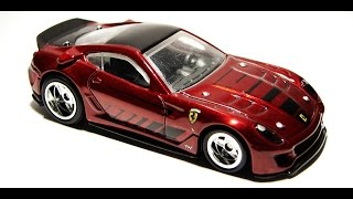 Hot Wheels Ferrari 599xx List and Variations Speed Machine Treasure Hunt