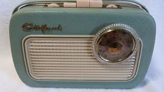 1960? Sudfunk AM/FM/SW transistor radio (made in Germany)