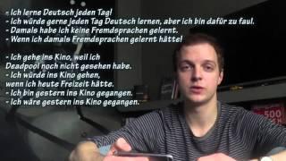 Немецкая грамматика: Konjunktiv II. Примеры. Коньюнктив 2. Курс немецкого бесплатно, урок 42.1.