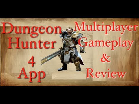 Multiplayer Gameplay DH4 Dungeon Hunter 4 App For Tablets & Smart Phones