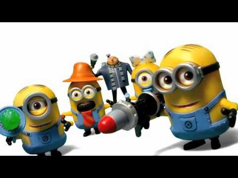 Despicable Me 2 Deluxe Action Figures Youtube