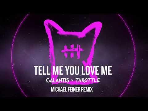 Galantis & Throttle  Tell Me You Love Me Michael Feiner Remix