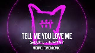 Galantis & Throttle - Tell Me You Love Me (Michael Feiner Remix)