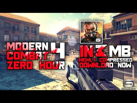 Modern Combat 4 Zero Hour Highly Compressed In 3 MB