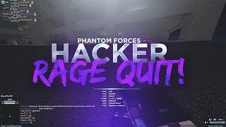 MAKING A HACKER RAGE QUIT.. (phantom forces)