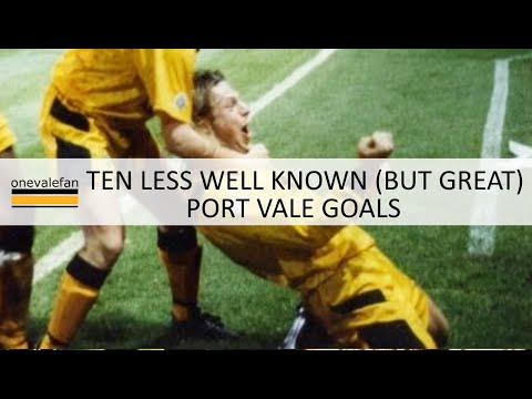 Ten less well-known but great Port Vale goals