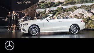 World Premiere Mercedes Benz E Class Cabriolet – Mercedes Benz original