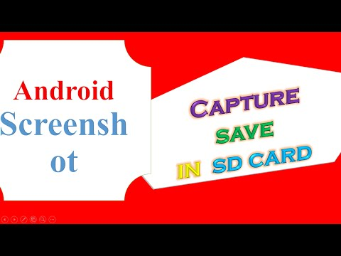 Android Capture ScreenShot and Save In SD Card [Programmatically]