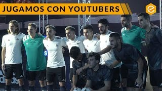 Partido de Youtubers con Koke, Filipe Luís y Correa // adidas Tango League