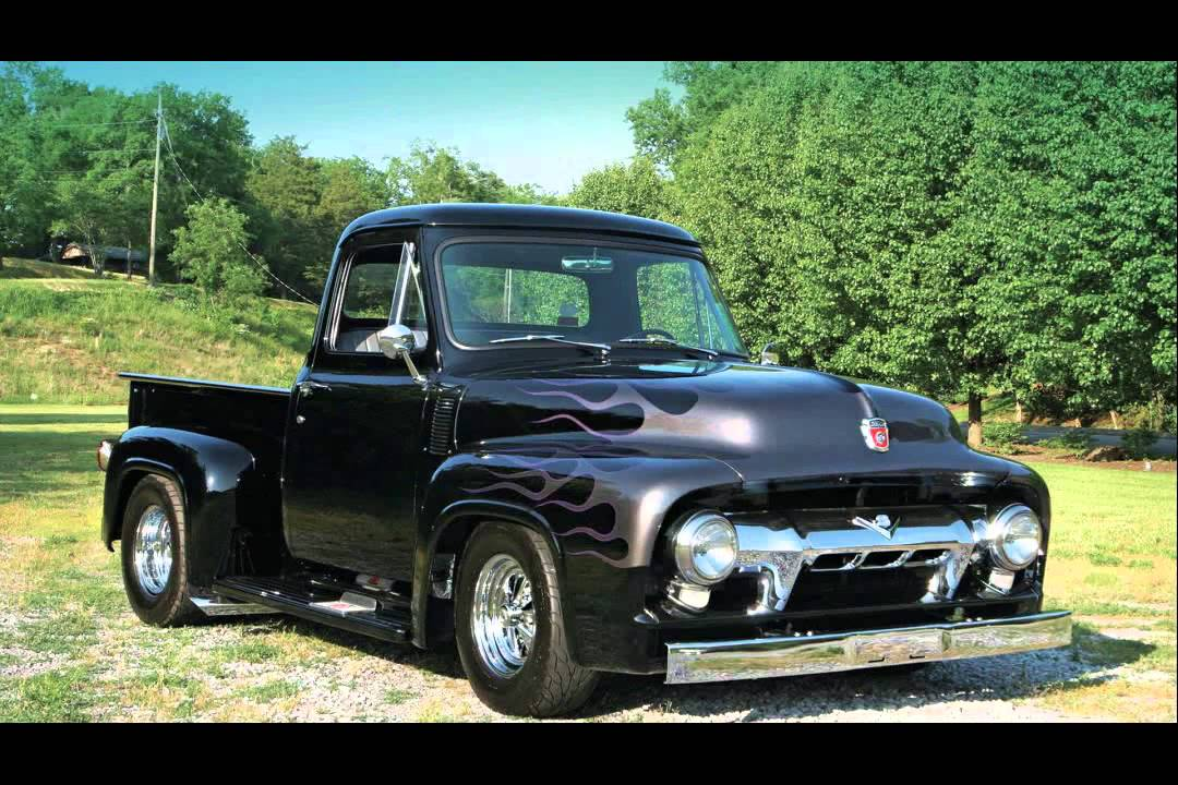 1954 ford f100 pickup youtube. Black Bedroom Furniture Sets. Home Design Ideas