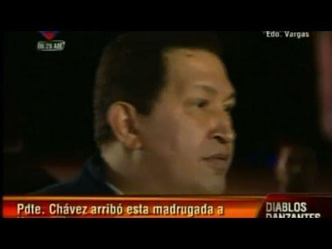 Chavez de retour au Venezuela après un traitement médical à Cuba
