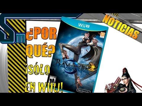 ¿Por qué BAYONETTA 2 es exclusivo de WiiU?   La respuesta de sus creadores