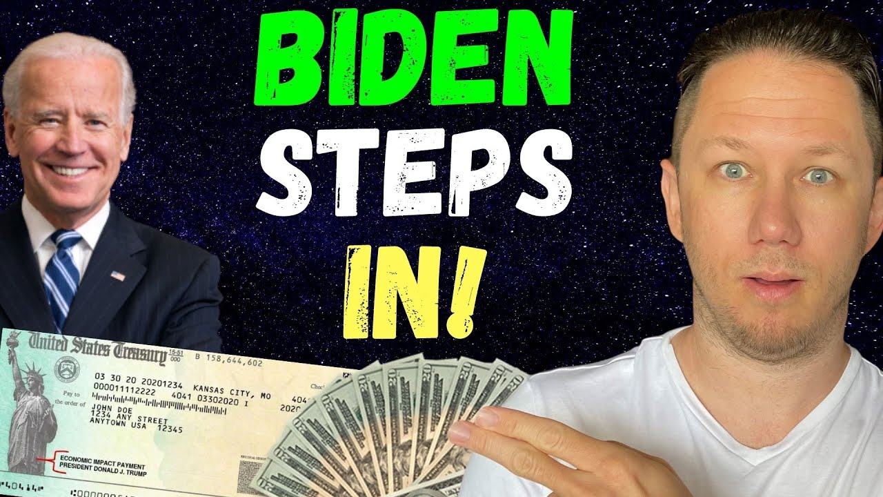 BIDEN STEPS IN!! Fourth Stimulus Check Update Today 2021 & Daily News