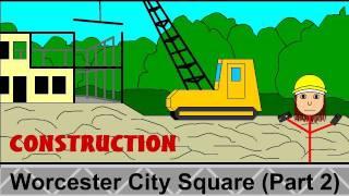 Worcester: City Square Project, Part 2: Demolition (1/25/11)