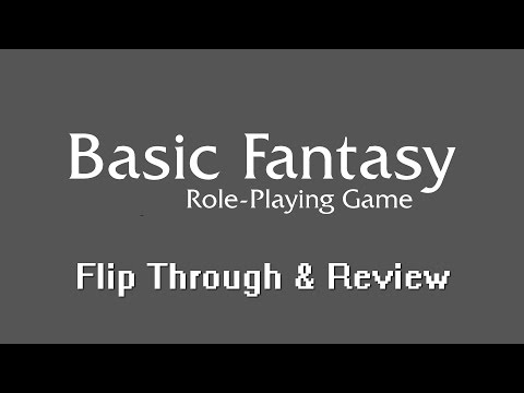 RPG Crawler Reviews: Basic Fantasy Role playing Game